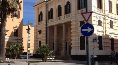 "Photo of Library Biblioteca Civica ""Leonardo Lagorio"" at Via Belgrano, Imperia, Italy"