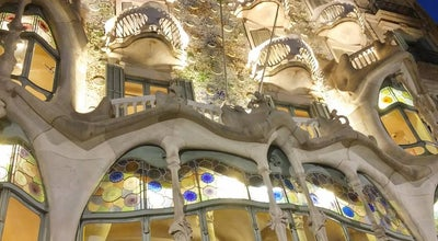 Photo of Souvenir Shop Casa Batlló Store at Barcelona, Spain