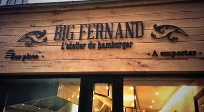 Photo of Burger Joint Big Fernand Montorgueil at 32 Rue Saint-sauveur, Paris 75002, France