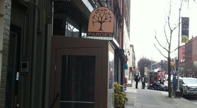 Photo of New American Restaurant Pardes Restaurant at 497 Atlantic Ave, Brooklyn, NY 11217, United States