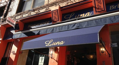 Photo of Italian Restaurant Luna Ristorante at 115 Mulberry St, New York, NY 10013, United States