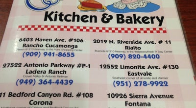 Photo of American Restaurant Corky's Kitchen & Bakery at 10926 Sierra Ave, Fontana, CA 92337, United States