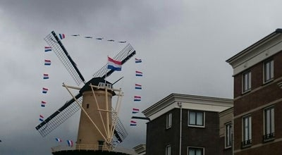 Photo of Monument / Landmark Molen De Kameel at Doeleplein, Schiedam 3111 PA, Netherlands