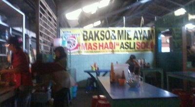 "Photo of Ramen / Noodle House Bakso & Mie Ayam ""Mas Hadi"" at Pasar Babadan, Ungaran 50518, Indonesia"