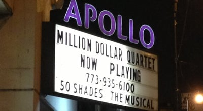 Photo of Theater Apollo Theater Chicago at 2540 N Lincoln Ave, Chicago, IL 60614, United States