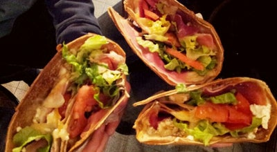 Photo of Creperie Au P'tit Grec at 68 Rue Mouffetard, Paris 75005, France