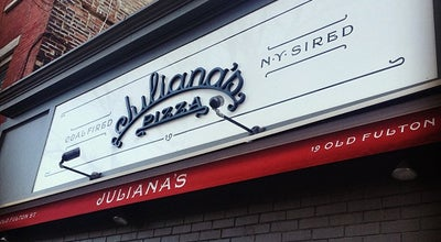 Photo of Italian Restaurant Juliana's Pizza at 19 Old Fulton St, Brooklyn, NY 11201, United States