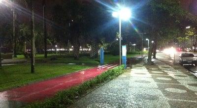Photo of Trail Calçadão da Orla de Santos at Toda Extensão Da Orla, Santos, Brazil