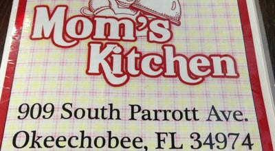 Photo of American Restaurant Mom's Kitchen at 909 S Parrott Ave, Okeechobee, FL 34974, United States