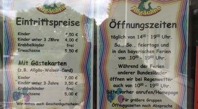 Photo of Theme Park Allgäulino Wertach at Alpenstrasse 20, Wertach 87497, Germany