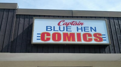 Photo of Comic Shop Captain Blue Hen Comics at 280 E Main St., Newark, DE 19711, United States