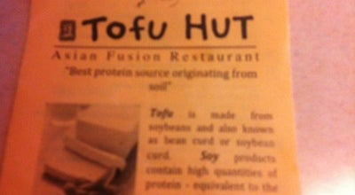 Photo of Asian Restaurant Tofu Hut at 4804 Pacific Ave Se, Lacey, WA 98503, United States