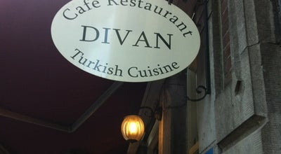 Photo of Mediterranean Restaurant Divan at Elandsgracht 14, Amsterdam 1016 TV, Netherlands