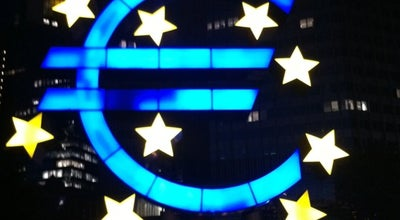 Photo of Monument / Landmark Euro-Zeichen - € at Willy-brandt-platz 2, Frankfurt am Main 60311, Germany