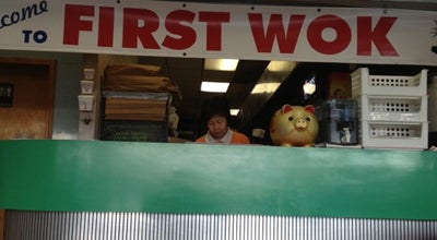 Photo of Chinese Restaurant First Wok at 2570 Wabash Ave, Terre Haute, IN 47803, United States