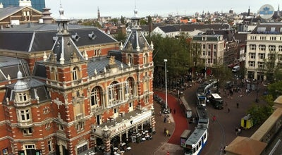 Photo of Monument / Landmark Leiden Square (Leidseplein) at Leidsestraat, Amsterdam 1017, Netherlands
