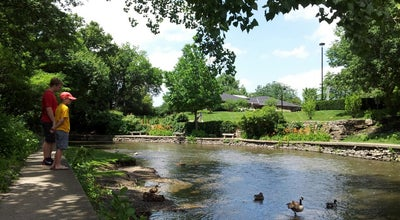 Photo of Park Riverwalk Park at 320 Jackson Ave, Naperville, IL 60540, United States