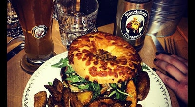 Photo of Burger Joint Kaffee Berlin at 26 Cours Albert Thomas, Lyon 69008, France