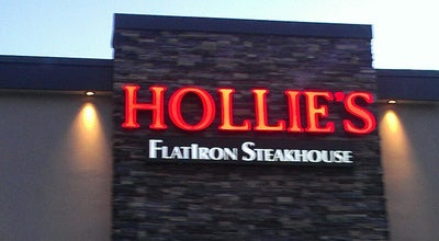 Photo of Steakhouse Hollie's Flatiron Steakhouse at 1199 S I 35 Service Rd, Moore, OK 73160, United States