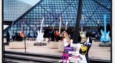 Photo of Museum Rock and Roll Hall of Fame and Museum at 1100 Rock And Roll Blvd, Cleveland, OH 44114, United States