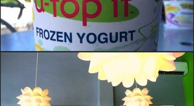 Photo of Ice Cream Shop U-Top It at 245 San Anselmo Ave, San Anselmo, CA 94960, United States