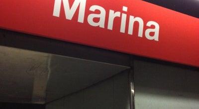 Photo of Subway METRO Marina at Av Meridiana, Barcelona 08018, Spain