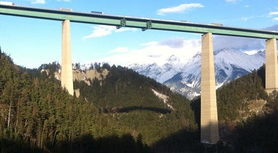 Photo of Bridge Europabrücke at Brenner Autobahn A13, Innsbruck, Austria