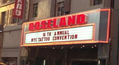 Photo of Music Venue Roseland Ballroom at 239 W 52nd St, New York, NY 10019, United States