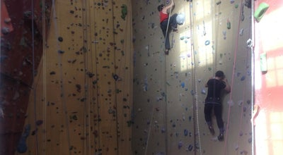 Photo of Climbing Gym Itinéraires AMO at Place Louis Moricharplein 56, Saint-Gilles / Sint-Gillis 1060, Belgium