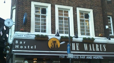 Photo of Hostel Walrus Waterloo Hostel at 172 Westminster Bridge Rd, Lambeth SE1 7RW, United Kingdom