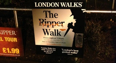 Photo of Tourist Attraction Jack the Ripper Jury Walk at London EC3N 4DJ, United Kingdom