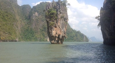 Photo of Scenic Lookout James Bond Island at Phangnga Bay, Thailand