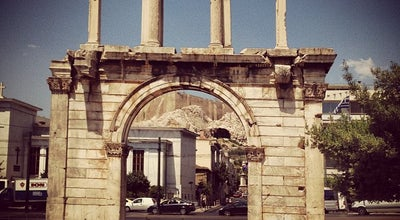 Photo of Monument / Landmark Πύλη του Αδριανού (Hadrian's Arch) at Λεωφ. Βασιλίσσης Αμαλίας, Αθήνα 105 58, Greece