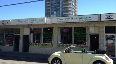Photo of Vietnamese Restaurant Pho 777 Restaurant at 15230 Russell Ave, white rock, BC, Canada