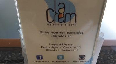 Photo of Ice Cream Shop La Crem at Colo Colo 571, Concepción 4030000, Chile