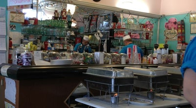 Photo of American Restaurant Mom and Pop's Soda Shop and Eatery at 23 E Utica St, Oswego, NY 13126, United States