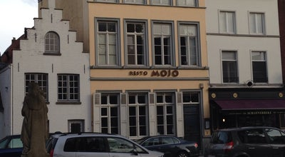 Photo of French Restaurant Resto Mojo at Schaarstraat 4, Brugge 8000, Belgium