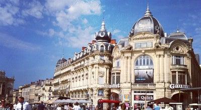 Photo of Monument / Landmark Place de la Comedie at Montpellier, France
