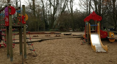 Photo of Playground Spielplatz Mathildenstraße/Zoopark at Mathildenstraße, Düsseldorf, Germany
