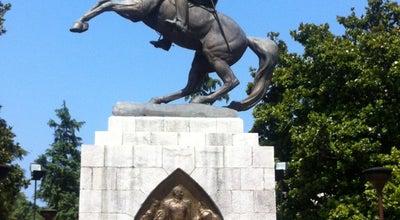 Photo of Outdoor Sculpture Atatürk Heykeli at Cumhuriyet Cad., Samsun, Turkey