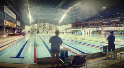 Photo of Pool 고양종합운동장 실내체육관 수영장 at South Korea