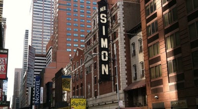 Photo of Theater Neil Simon Theatre at 250 W 52nd St, New York, NY 10019, United States