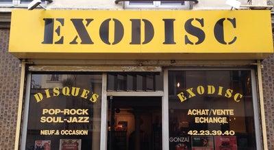 Photo of Record Shop Exodisc at 70, Rue Du Mont-cenis, Paris 75018, France