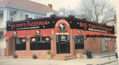 Photo of Pizza Place Big Tonys Pizzeria at 525 Eaton St, Providence, RI 02908, United States