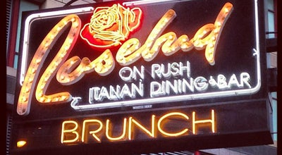 Photo of Italian Restaurant Rosebud on Rush at 720 N Rush St, Chicago, IL 60611, United States