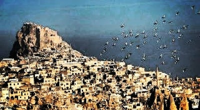 Photo of Town Uçhisar at Belde Merkezi, Nevşehir, Turkey
