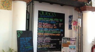Photo of Vegetarian / Vegan Restaurant Dharma Café at Calle Piña # 11, Cancun 77509, Mexico
