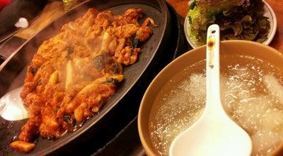 Photo of Korean Restaurant 우성닭갈비 at 후만로 81, Chuncheon 200-962, South Korea