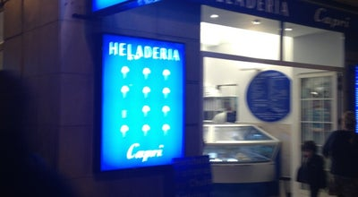 Photo of Ice Cream Shop Heladería Capri at Paseo De Pereda 3, Santander 39004, Spain