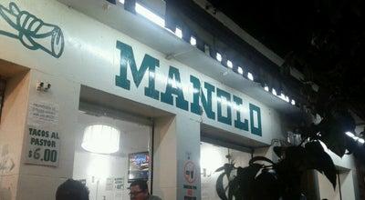 Photo of Taco Place Tacos Manolo at Luz Saviñón 1305, Benito Juárez 03020, Mexico
